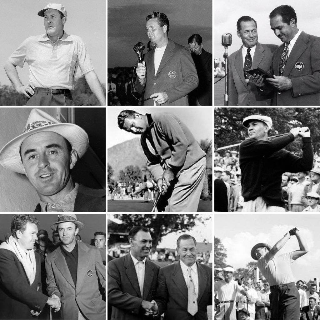 The Masters Champions from 1946-1954