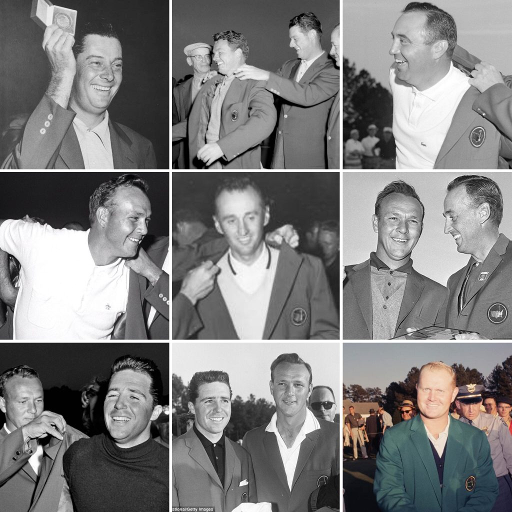 The Masters Champions from 1955-1963